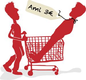 Freunde kaufen, so einfach als im Einkaufszentrum zu gehen !