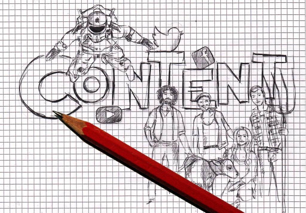 Content skizziert